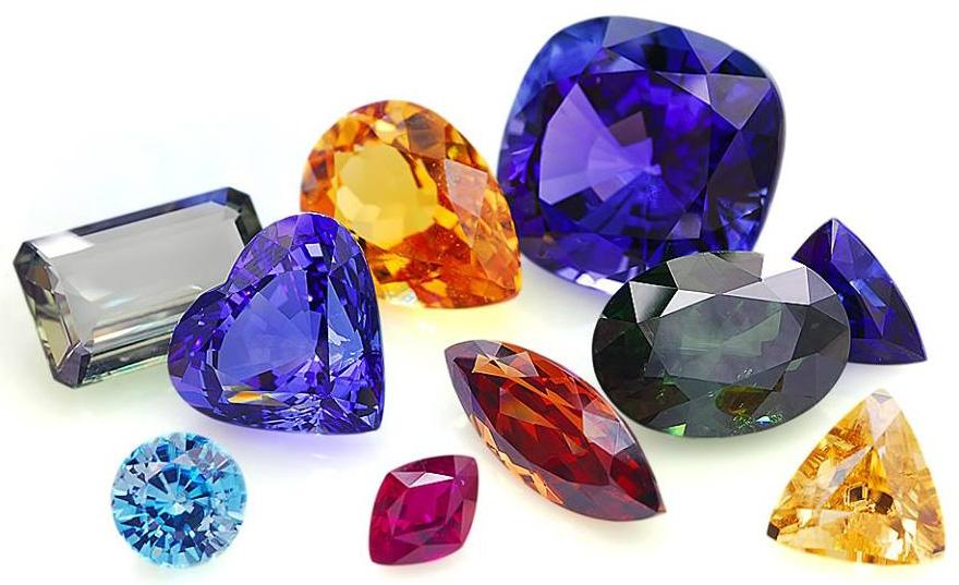 Самоцветы и поделочный камень