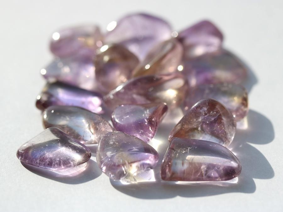 Дивный камень аметрин